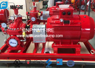 Electric Motor Driven Split Case Fire Pump 500GPM@180PSI For Water Use
