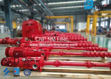 Centrifugal Electric Motor Driven Fire Pump Sets With Vertial Turbine Pumps For Water Use
