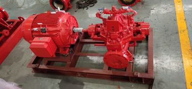 300 GPM 83 PSI Fire Fighting Pump System , SS UL FM Diesel Fire Pump Package