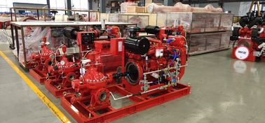 Horizontal End Suction Electric Motor Driven Fire Pump 68.2M3/H 60m UL FM NFPA20