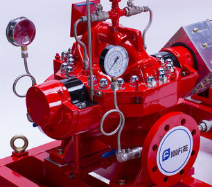 Industrial 750 GPM Split Case Fire Pump Single Stage With Double Impeller