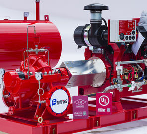 Holland Original DeMaas Diesel Engine For Fire Fighting Pump , FM Approved